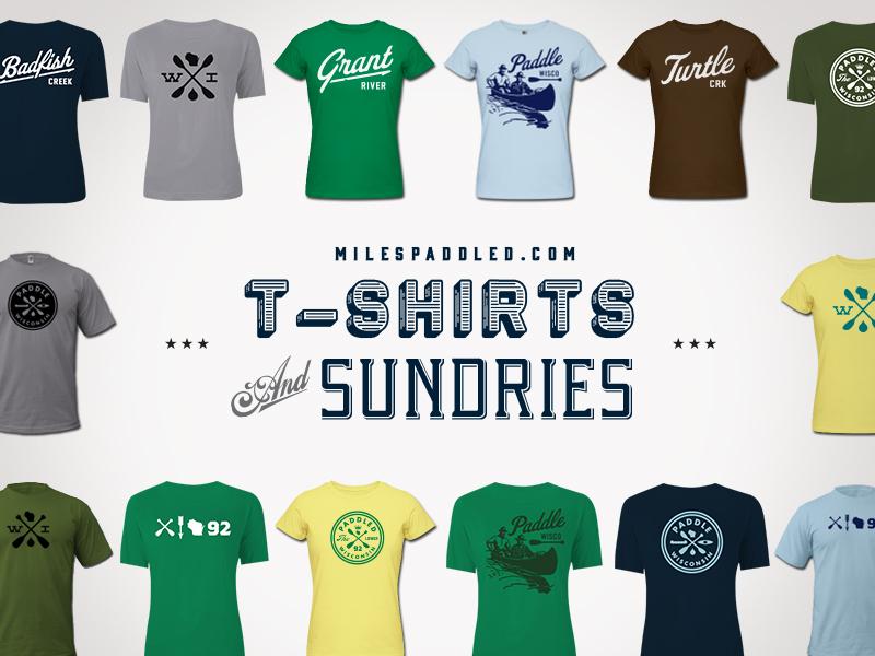 Miles Paddled T-Shirt Shop