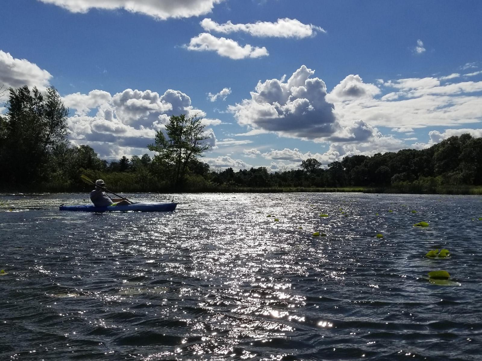 Illinois bureau county dover - Moon Lake