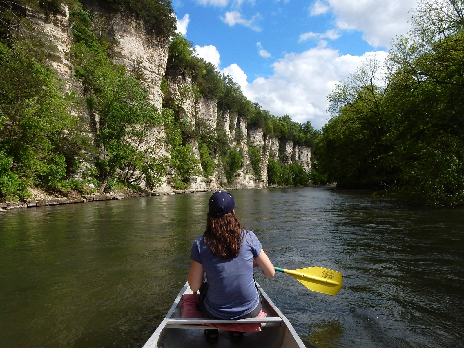 Upper Iowa River Ii Miles Paddled