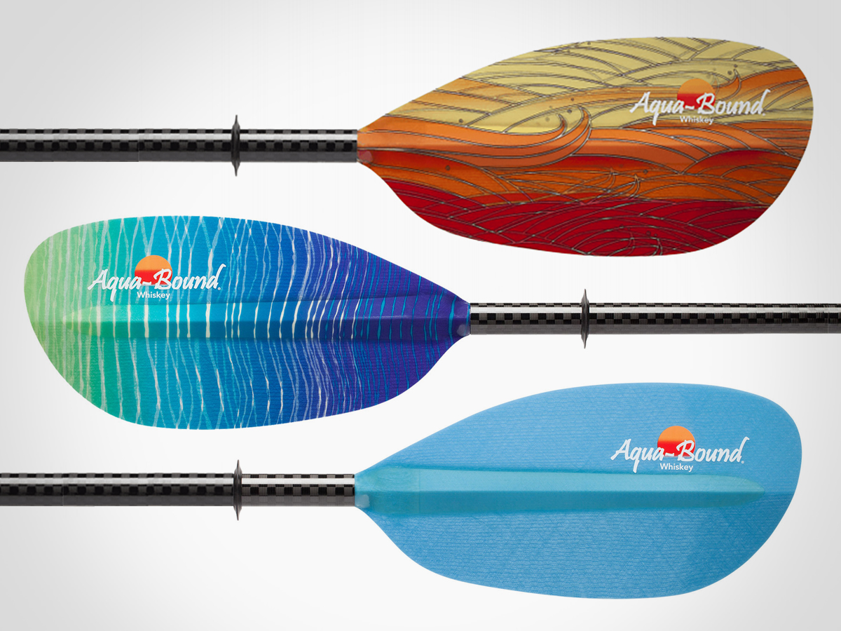 Aqua-Bound Whiskey Fiberglass Kayak Paddle